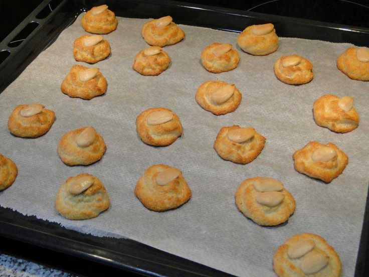 galletas de almendras sin azúcar y sin gluten- 4