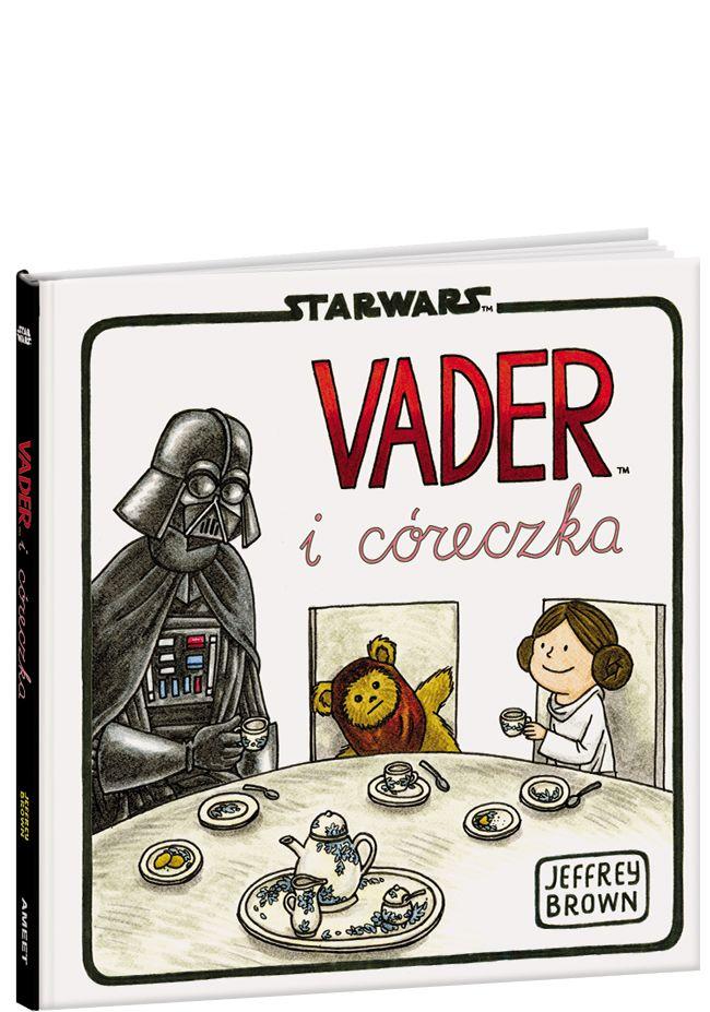 """Vader – Lord Sithów i przywódca złowrogiego Imperium – musi zmierzyć się z trudnym doświadczeniem wychowywania dorastającej córki Lei, która z małej i słodkiej dziewczynki staje się zbuntowaną nastolatką.Inteligentne teksty i zabawne ilustracje Jeffreya Browna nadają klasycznym i kultowym scenom """"Gwiezdnych wojen"""" nowe oblicze."""