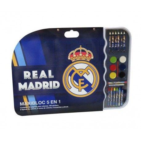 SET DIBUJO OFICIAL DEL REAL MADRID
