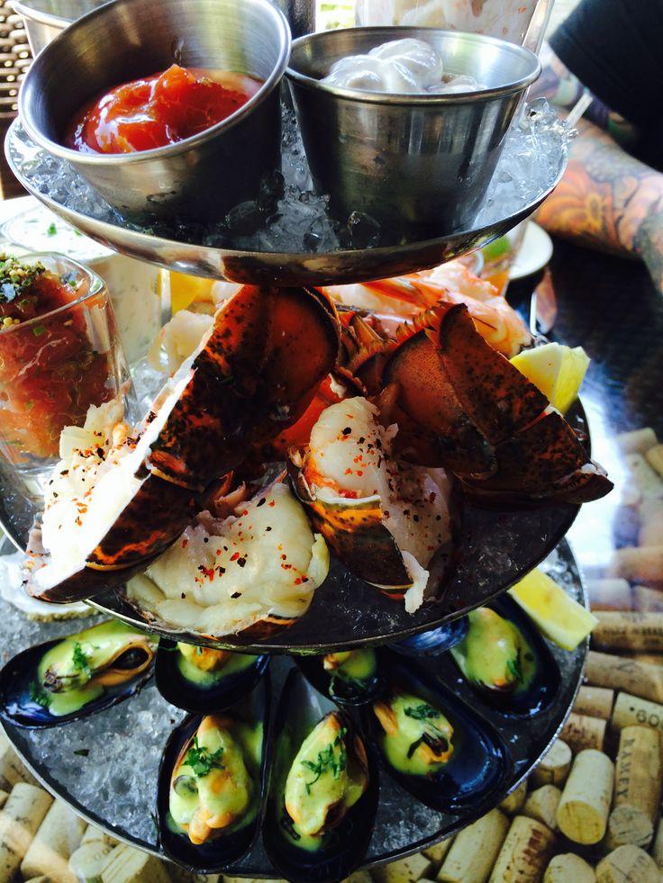 Seafood Plateau Boarding House Nantucket Island