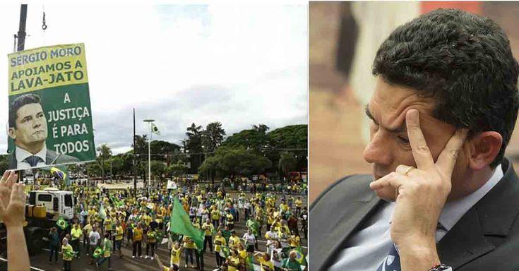 SUED E PROSPERIDADE: Protesto a favor de Moro em Maringá tem baixa ades...