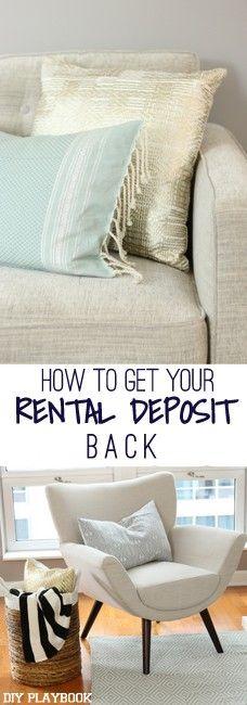 9 Tips to Get your Rental Deposit Back
