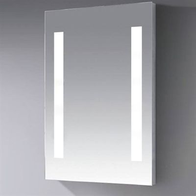 Ceramics by JAG PBI-JM-LED-003 Showroom Series Lisa Square LED Mirror
