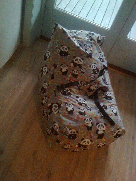 Baby Sækkestol med sele