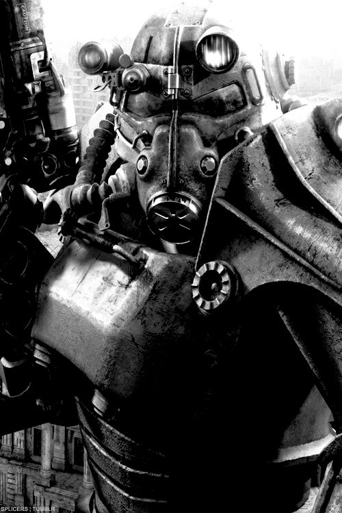 The Brotherhood of Steel from Fallout 3...