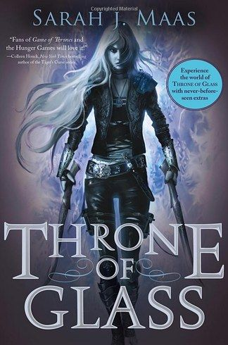 "Throne of Glass, Sarah J. Maas | 19 Books To Read If You Loved The ""Harry Potter"" Series"