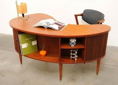 Back when I didn't know my white whale was a Kai Kristiansen Model 54 desk , in my search to find it I would come across similar mid-centur...
