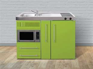 Premium 1200 Apple Green | Elfin Kitchens