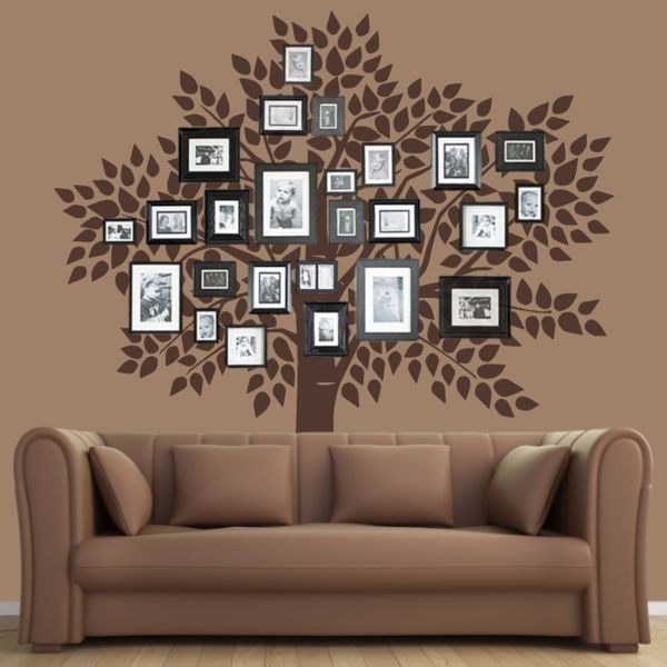 Living Room Tree Art: 1000+ Ideas About Family Tree Wall On Pinterest