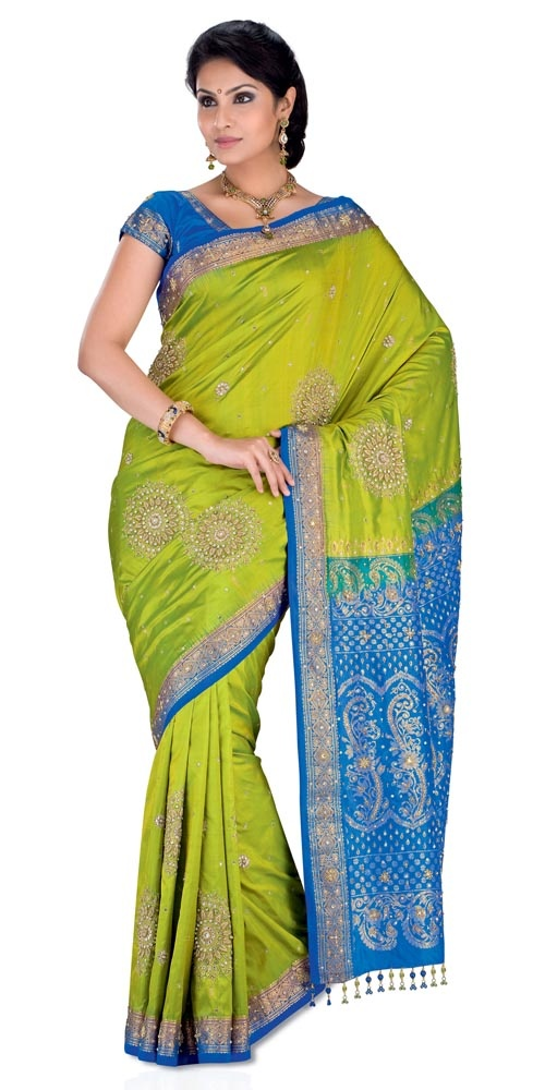 Vivacious Reception Saree