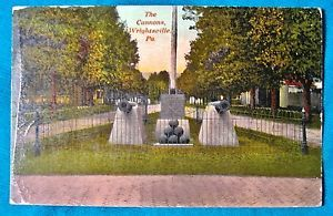 """eBay listing - rare postcard of the """"Farthest East"""" monument in Wrightsville."""