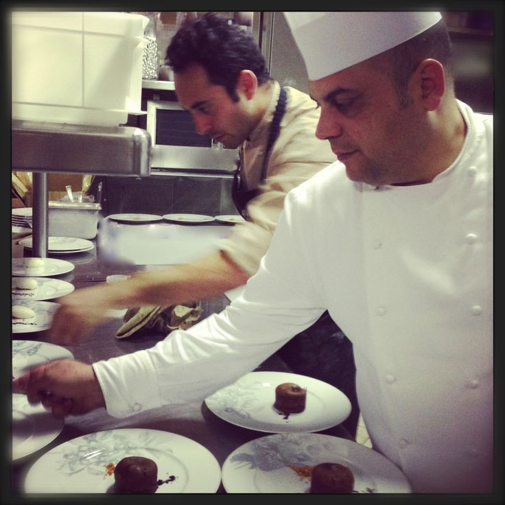 Chef Omar Agostini at Trattoria Toscana