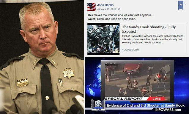 Oregon sheriff posted a Sandy Hook conspiracy video link to Facebook