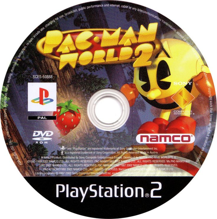 Pacman World 2 Broadcast