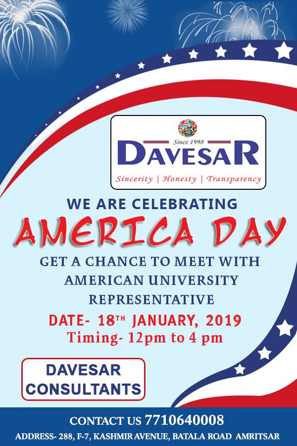 We Are Celebrating America Day Get A Chance To Meet With American