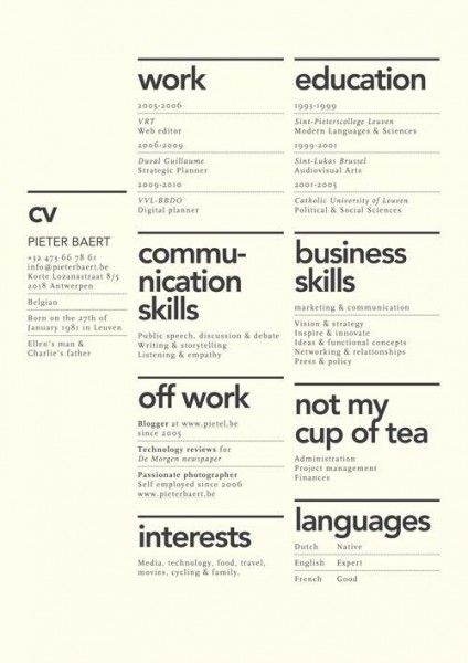 19 best Resume Design images on Pinterest Resume design, Cv - personal skills for a resume