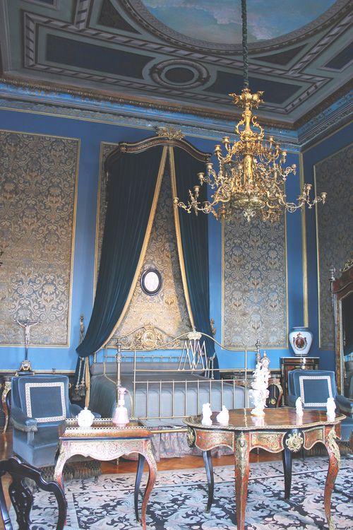 Habitación de Carlota de Bélgica en el Castillo de Chapultepec.