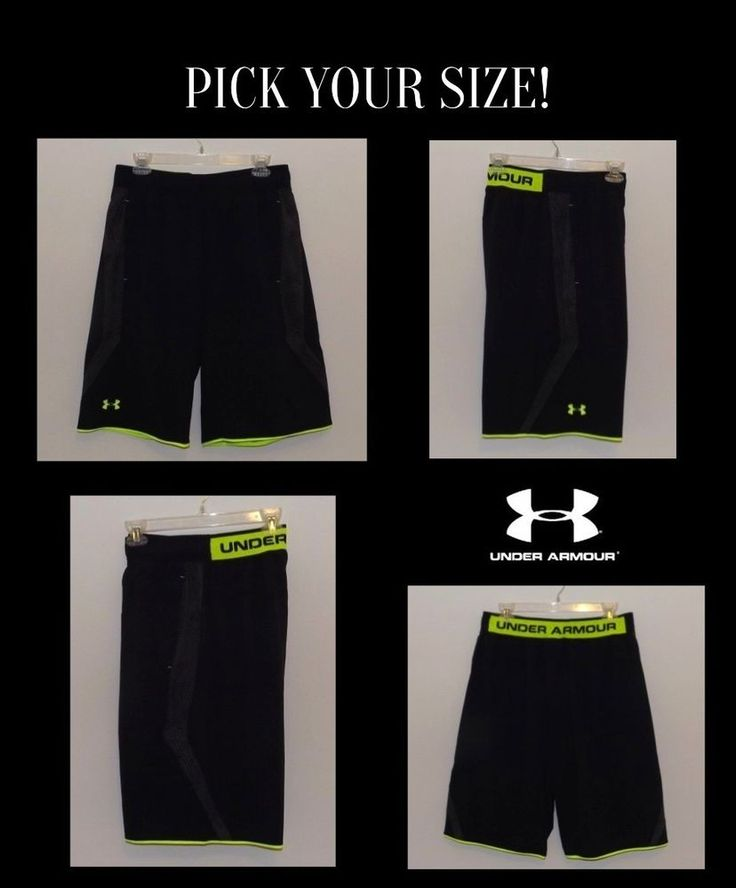 MEN'S UNDER ARMOUR COMBINE TRAINING FOOTBALL LOOSE FIT SHORTS 1244575 001 NWT  #UnderArmour #Shorts