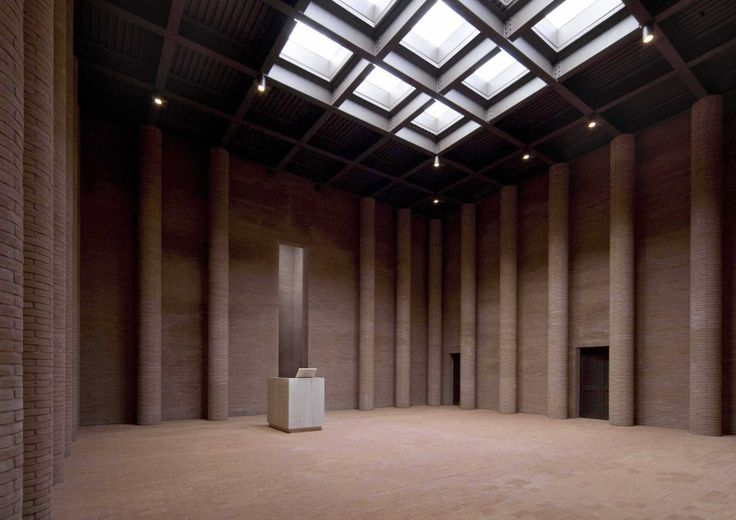 Crematory In Parma / Studio Zermani e Associati. A very spiritual space. The word is useless, because everything is self-evident.