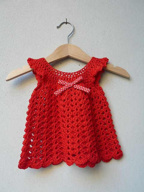 Free Crochet Angel Wing Dress Pattern : free crochet pattern