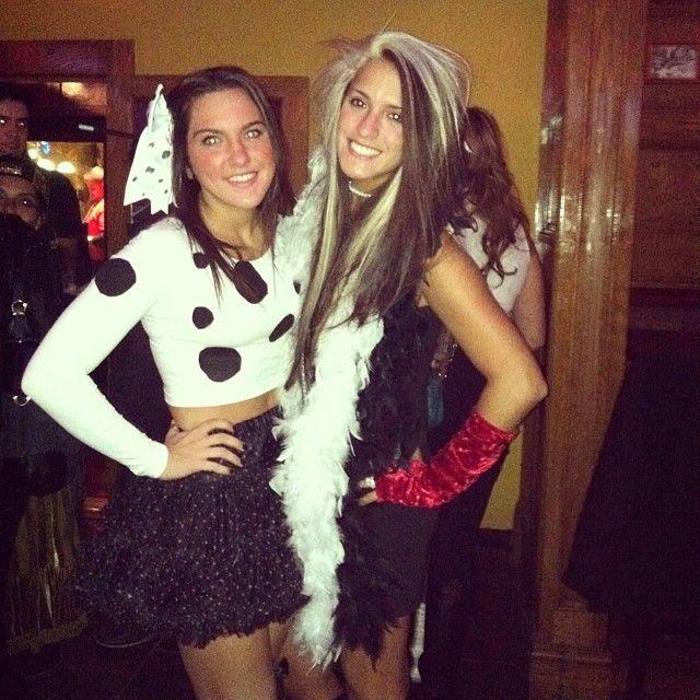 my main betch cruelladeville dalmatian bestfriendcostumes best friend halloween - Great Halloween Ideas