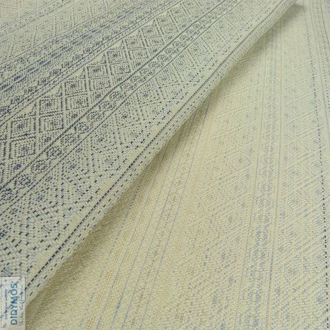 Shades of Blue hemp and linen - Didymos Woven wrap - Indio Limited Edition