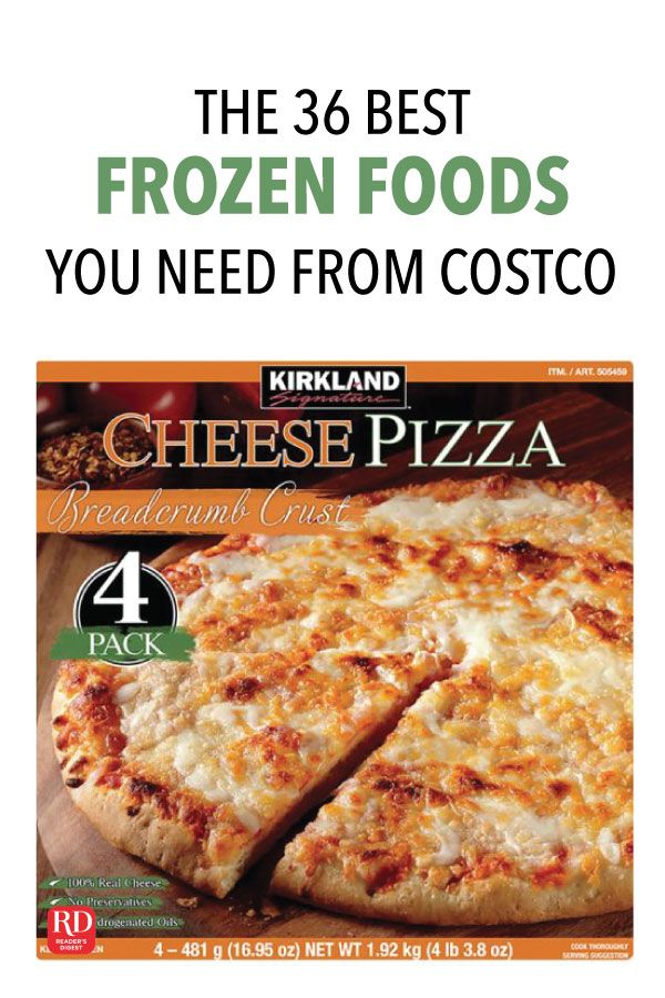 The 36 Best Frozen Foods You Need From Costco Best Frozen Meals