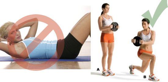 Top 10 Gym Exercises Women Should Never Ever Do