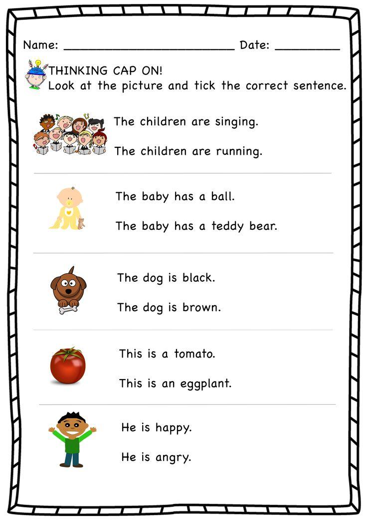 Choose the Correct Sentence