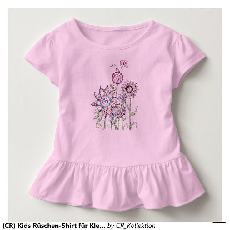 (CR) Kids Rüschen-Shirt für Kleinkinder Kleinkind T-shirt