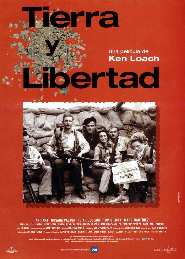 Tierra y libertad dirigida por Ken Loach