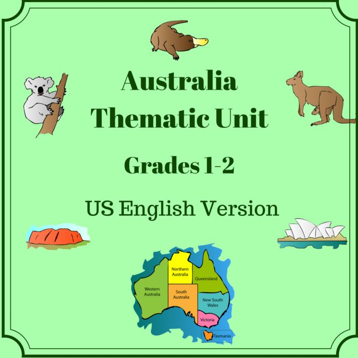 Worksheets and Activities including reading comprehension, writing  activities, word work, vocabulary and project ideas to give an  introduction and understanding of Australian culture, history and  traditions.