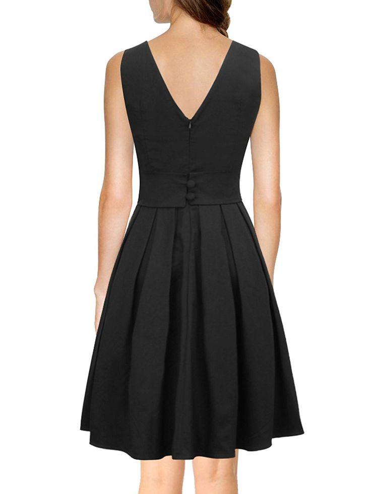 luouse robes vintage 1950 39 s audrey hepburn robe de soir e. Black Bedroom Furniture Sets. Home Design Ideas