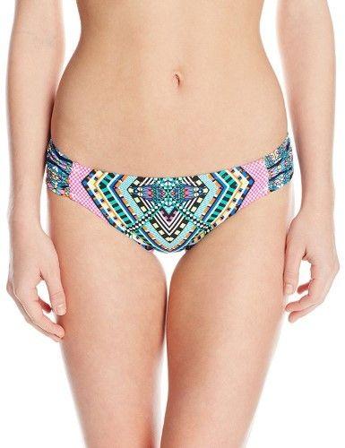 Jessica Simpson Women's Venice Beach Braided Hipster Bikini Bottom