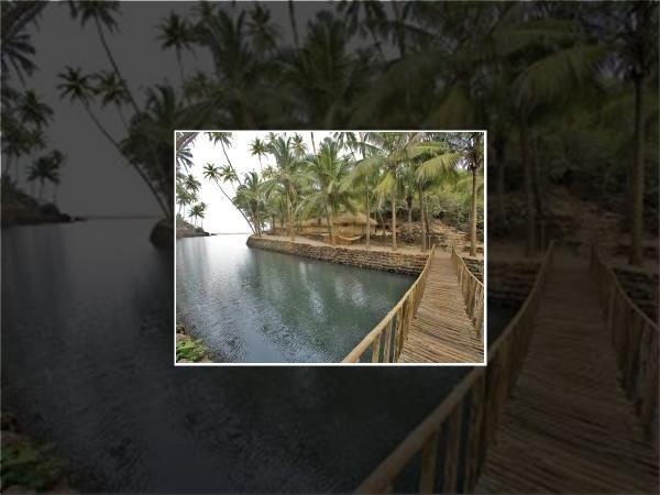 Canacona beach resort in South Goa, India