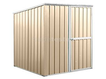 garden sheds nz: 1.75m x 1.75m x 1.9m Cream Sheds are kitset and come with assembly instructions. Our expert customer service team are on hand to help if you need it.  Timber floor kit plans supplied on request. Trade Tested recommends using one of our foundation kits for a flat site; or alternatively a concrete slab, concrete blocks or pavers.