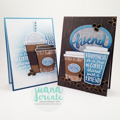 Coffee Cafe bundle Stampin' Up!