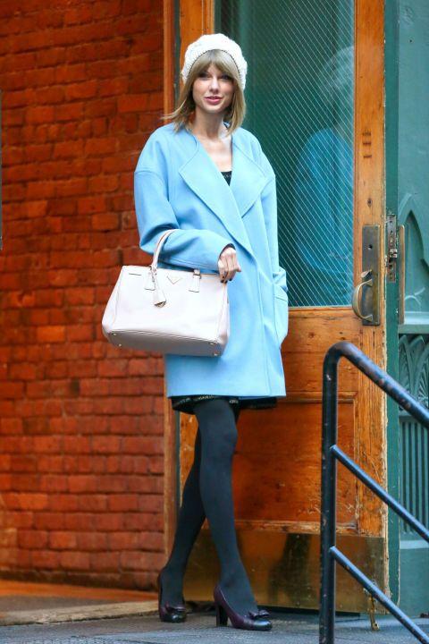 Taylor Swift Street Style 2014 - Taylor Swift New York Fashion