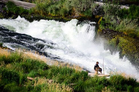 Oregon Historical County Records Guide: Wasco County Scenic Images: Sherars Falls