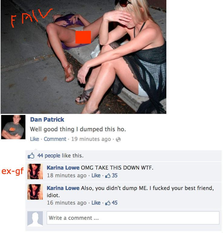 These WTF Ex Girlfriend Facebook Fails are RIDICULOUS! http://whycuzican.co/wtf-ex-girlfriend-facebook-fails