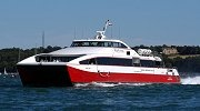 Red Funnel bringing people to and from Cowes
