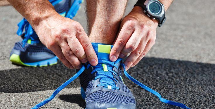 Laufschuhe sind männlich - 24 Prozent der Männer gehen laut einer Forsa-Umfrage der TK joggen und laufen. Bei den Frauen sind es nur elf Prozent.