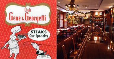 Travel Dining | Chicago: Classic dishes at Gene & Georgetti steakhouse in River North.