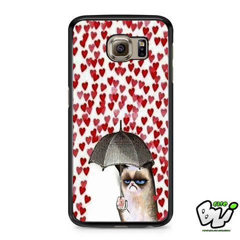 Grumpy Cat Love Rain Samsung Galaxy S6 Case