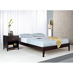 Tapered Leg Queen Size Platform Bed