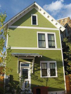 Best 25+ Green exterior paints ideas on Pinterest | Green siding ...