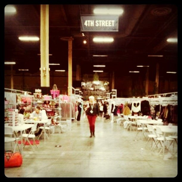 Strolling the Streets inside the Project show. So much to look at, so much to buy! www.ourchoix.com