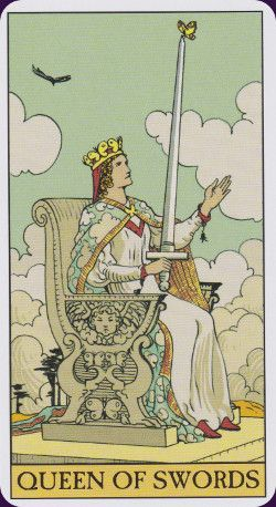 The After Tarot shows what might have happened next in each scene in the 78 Rider-Waite cards. The illustrations are an a close reproduction of Pamela Colman-Smith's original artistic style. It's a very creative concept, and a companion deck to the Tarot of the New Vision.