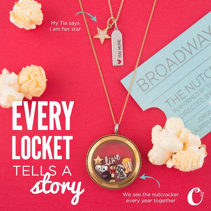 Every Locket tells a story! What's your story?!