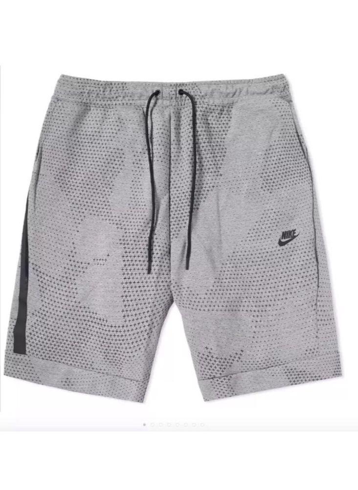 Nike Sportswear Tech Fleece Fleece shorts Für Herren Blau
